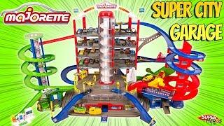 Un Mega Garage Majorette Super City Garage avec Train Electrique Noel 2019 Duracell