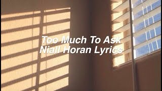 Baixar Too Much To Ask || Niall Horan Lyrics