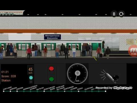 paris metro simulator ligne 12 youtube. Black Bedroom Furniture Sets. Home Design Ideas