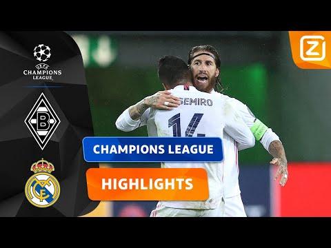 MADRID ONTWAAKT IN SLOTFASE! 🤩   Gladbach Vs Real Madrid   Champions League 2020/21   Samenvatting