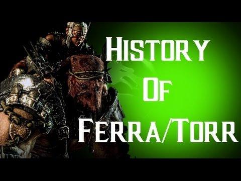 History Of Ferra/Torr Mortal Kombat X