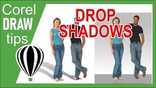 как сделать тень в coreldraw