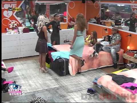 Liliana SS5 e Vânia SS5 discutem por causa do Daniel