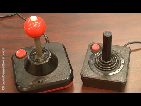 Classic Game Room - WICO COMMAND CONTROL Atari 2600 joystick review