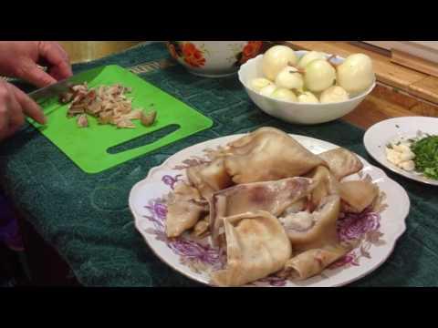 Салат из свиных ушей по корейски рецепт с фото 1000menu