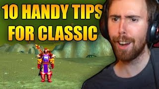 Asmongold Reactions 10 Handy Tips And Tricks For Classic WoW By MadSeason