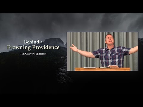 Behind a Frowning Providence - Tim Conway