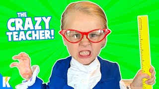 Ava is the CRAZY TEACHER! (Hide and Seek) KIDCITY