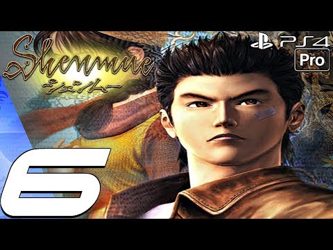 Shenmue 1 Remastered - Gameplay Walkthrough Part 6 - Harbor Work (PS4 PRO)