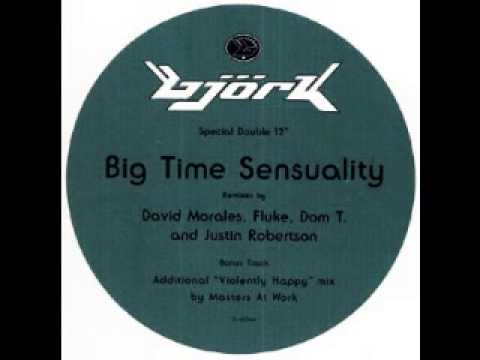 Björk - Big Time Sensuality [Justin Robertson Lionrock Wigout Mix]