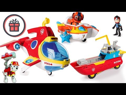 paw-patrol-sea-and-subpatroller-|-toy-unboxing-review