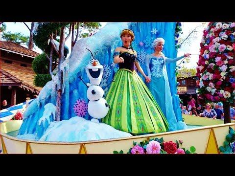 DISNEY WORLD PARADE 2018, Festival of Fantasy, Magic Kingdom