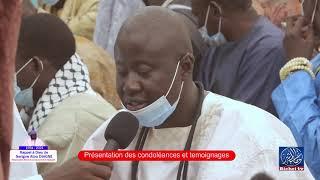 Témoignage S. Ablaye Diop   Hommage à Serigne Atou DIAGNE: Présentations des Condoléances