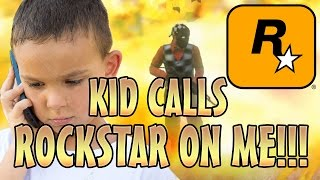 kid calls rockstar on me gone wrong gta 5 mods