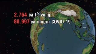 80.997 ca nhiễm COVID-19, 2.764 ca tử vong tính đến 26/2 | VTV24