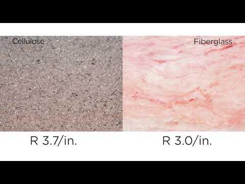 Attic Insulation: Blown Cellulose vs  Fiberglass Batts
