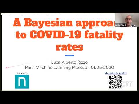 Luca Alberto Rizzo: A Bayesian approach for mortality rates for Covid-19 | Paris Machine Learning