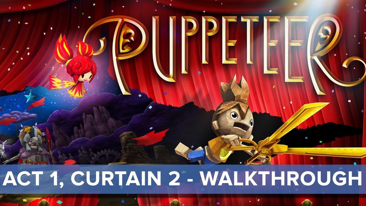 Puppeteer review • Eurogamer net