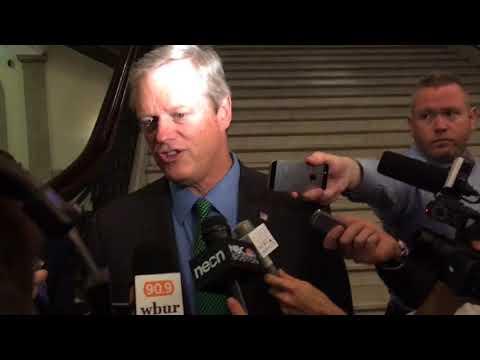 Massachusetts Gov. Charlie Baker says Senate healthcare bill doesn't save money