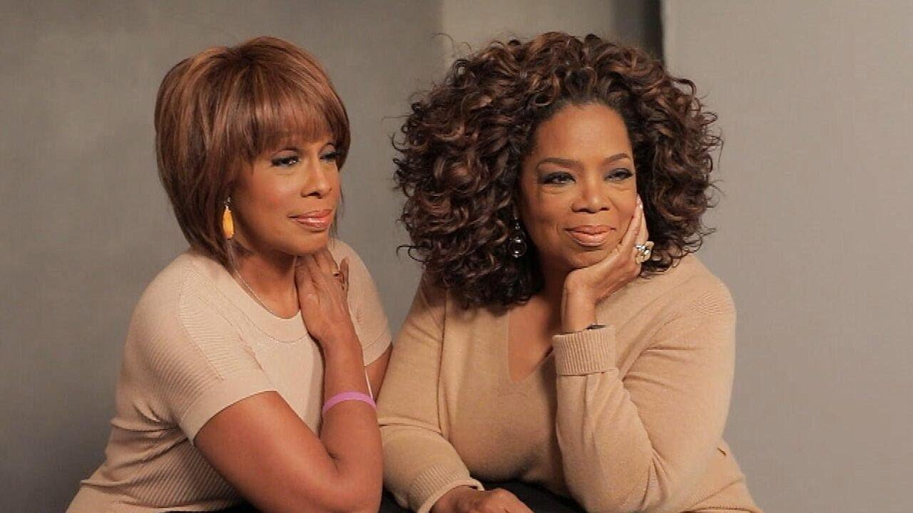 Watch Oprah Winfrey and Gayle King on Set for Their Best Friend Cover Shoot  (Exclusive) - YouTube
