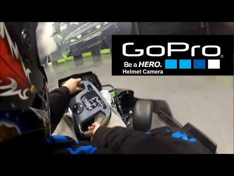 GoPro HD Hero: Slick Willy's Electric Drifting and 55 MPH Go Carts