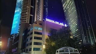 Вечерняя  Астана  (Нур-Султан)   Evening summer Astana (Nur-Sultan)
