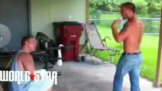Repeat youtube video White dude protecting his girlfriend after perve on facebook comes to there house!