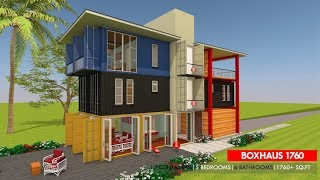 Shipping Container Homes Plans And Modular Prefab Design Ideas | Boxhaus 1760