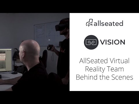 The AllSeated Virtual Reality Team Behind the Scenes!
