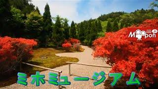 現代建築とアートと自然を堪能♪日本 滋賀県 甲賀市 ミホミュージアム