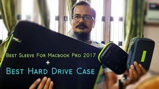 Best MacBook Pro 2017 Gizga Sleeve And Tizum Hard Drive Case Unboxing | MacBook Accessories