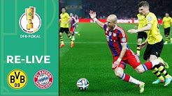 Der Krimi von 2014 in voller Länge! Borussia Dortmund - FC Bayern München | DFB-Pokal-Finale