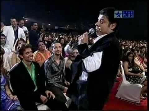 Hrithik interection with Sajid KhanStar Screen Awards 2009