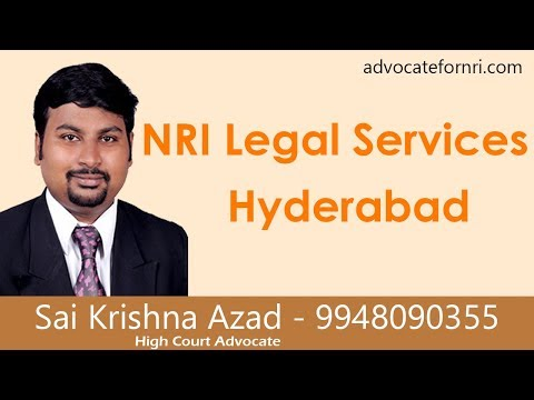 [2019] NRI Legal Services Hyderabad | Award Winning Law Firm