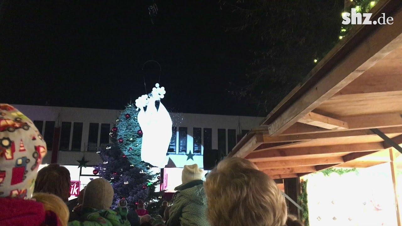 Weihnachtsmarkt Elmshorn.Elmshorn Engel Eröffnet Weihnachtsmarkt