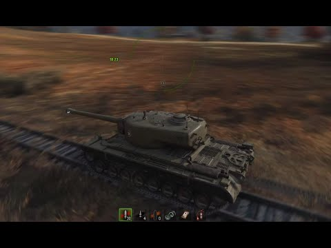 World of Tanks: T30 4 Kills Brothers In Arms Highway