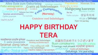 Tera   Languages Idiomas - Happy Birthday