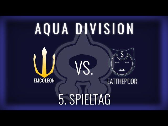 Emcoleon vs Eatthepoor, 5. Spieltag Aqua Division   NERDKRAM POKEMON LEAGUE