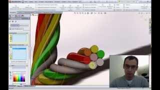 Связка проводов или шлангов в SolidWorks