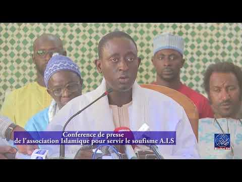 Conference de presse de l'association Islamique pour servir le soufisme AIS
