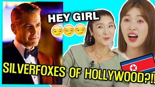 Download North Korean Mom Reacts to the Silver Foxes of Hollywood!!