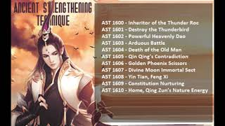 Chapters 1600-1610 Ancient Strengthening Technique