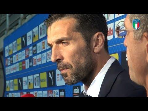 Le dichiarazioni di Gianluigi Buffon dopo Italia-Macedonia