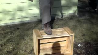 Cedar Wood Crate