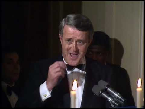 President Reagan's Toast at the State Dinner for PM Brian Mulroney on April 27, 1988