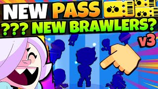 Gemming ENTIRE NEW Season 3 Brawl Pass + NEW Account = ??? NEW BRAWLER PULLS!