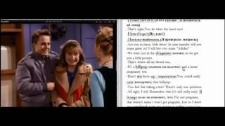Изучение английского по фильмам с субтитрами Friends Workshop   Part 7