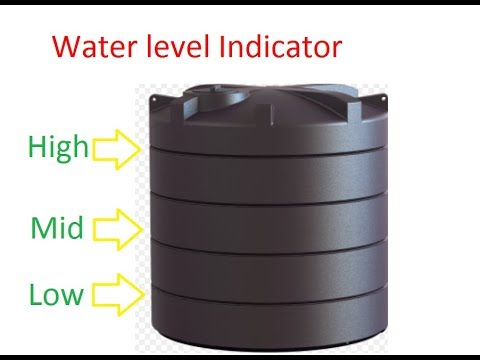 Build a water level Indicator using BC547 Transistor