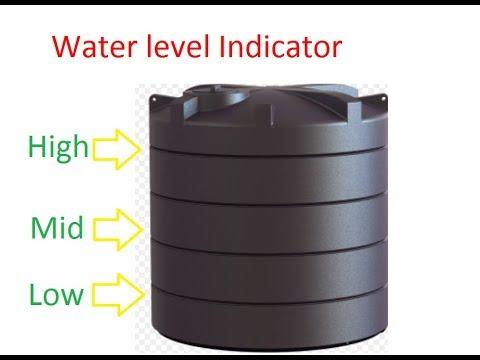 Build a water level Indicator using BC547 Transistor