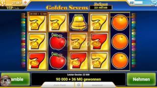 Slotpark Android Golden Seven 7 - Mega Win